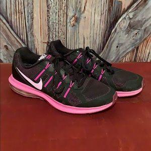 Nike Max Dynasty Sneakers Purple & Black Size 8.5